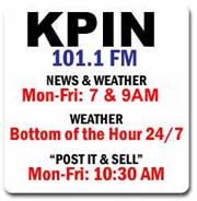 KPIN 101.1 FM Radio, Pinedale, Wyoming