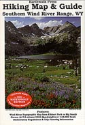Earthwalk Press Map, South Wind River Range