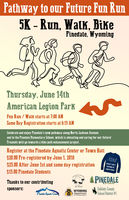 Pathway to our Future Fun Run June 14th